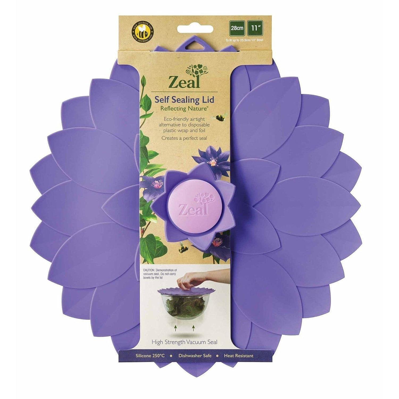 Zeal hermético Push a 11 pulgadas tapa de cocina - respetuoso con el ...