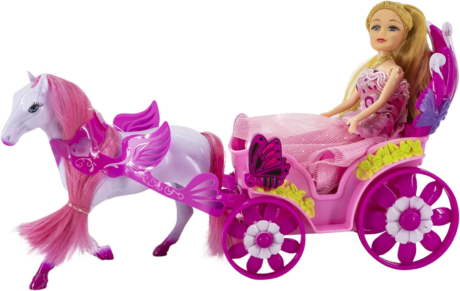 Toys Outlet - My Little Carriage 5406332548. Carroza con muñeca.