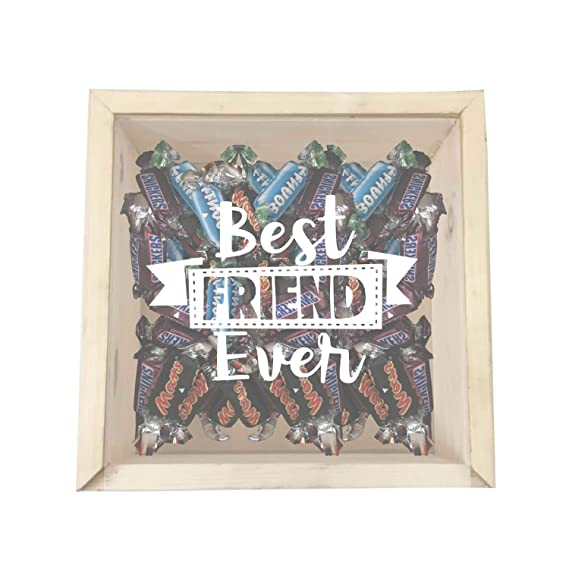 Yaya Cafe Birthday Gifts For Best Friends Chocolate Gift Hampers Engraved Wooden Gift Box Mars Snickers Bounty Candies Amazon In Grocery Gourmet Foods