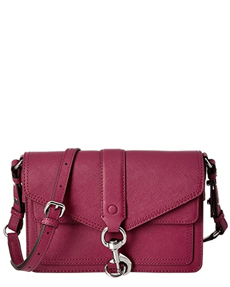 incredible prices so cheap 50% off Amazon.com: Rebecca Minkoff Hudson Moto Saffiano Leather ...