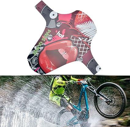 Maso - Guardabarros trasero plegable para bicicleta de montaña ...