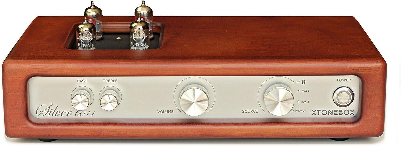 Amplificador HiFi a válvulas con previo Phono para Tocadiscos ...