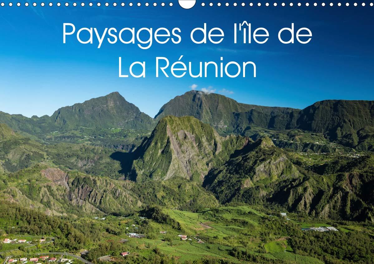Paysages De L'île De La Réunion  Calendrier Mural 2020 DIN A3 Horizontal