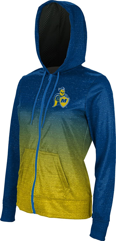School Spirit Sweatshirt ProSphere Madonna University Girls Zipper Hoodie Ombre
