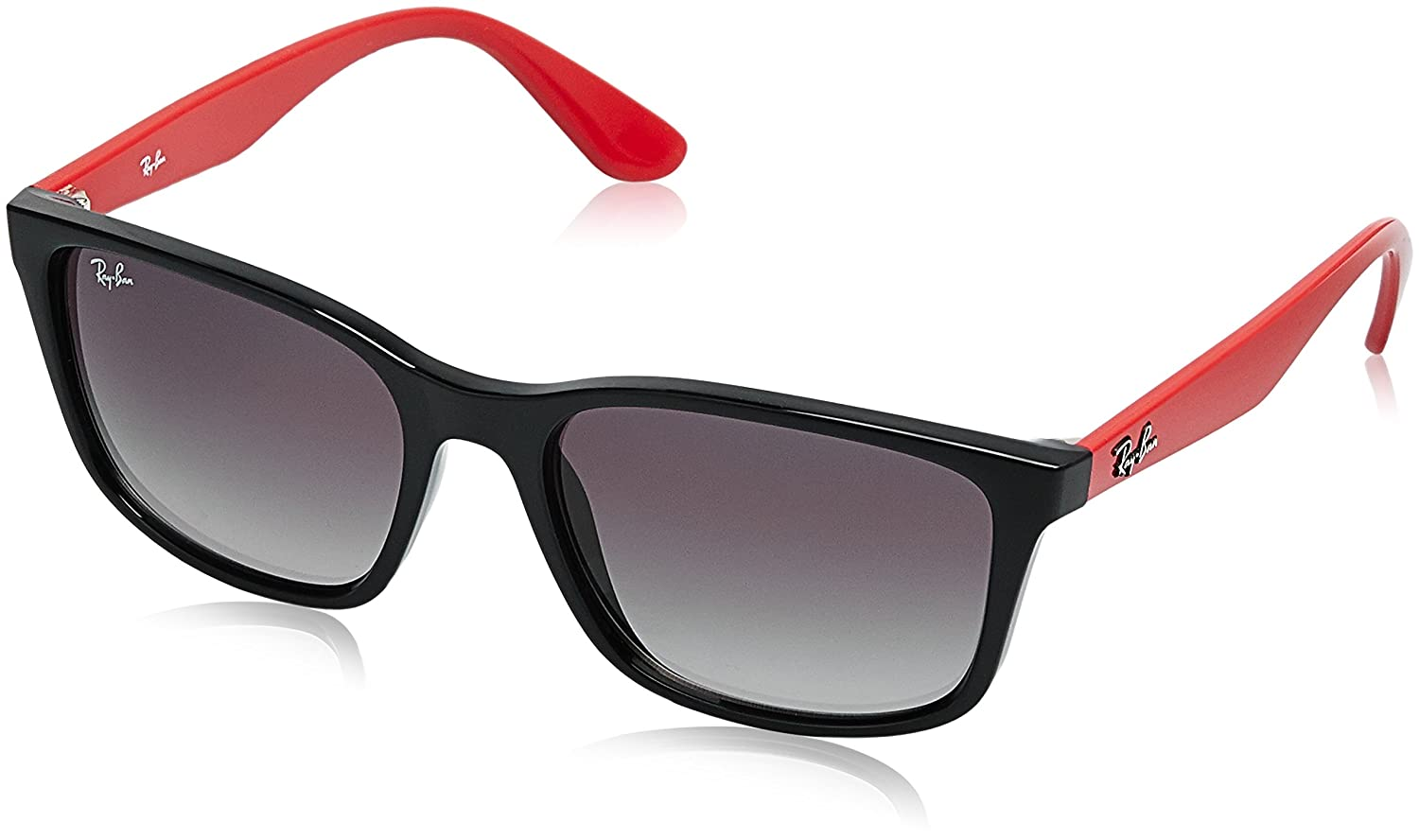 f085b53c98 Click Below Images to Enlarge. Style  Wayfarer  Color  Black-Red  Lens  Grey  Gradient