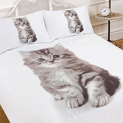Dreamscene - lujosamente suave Animal de gato funda de ...