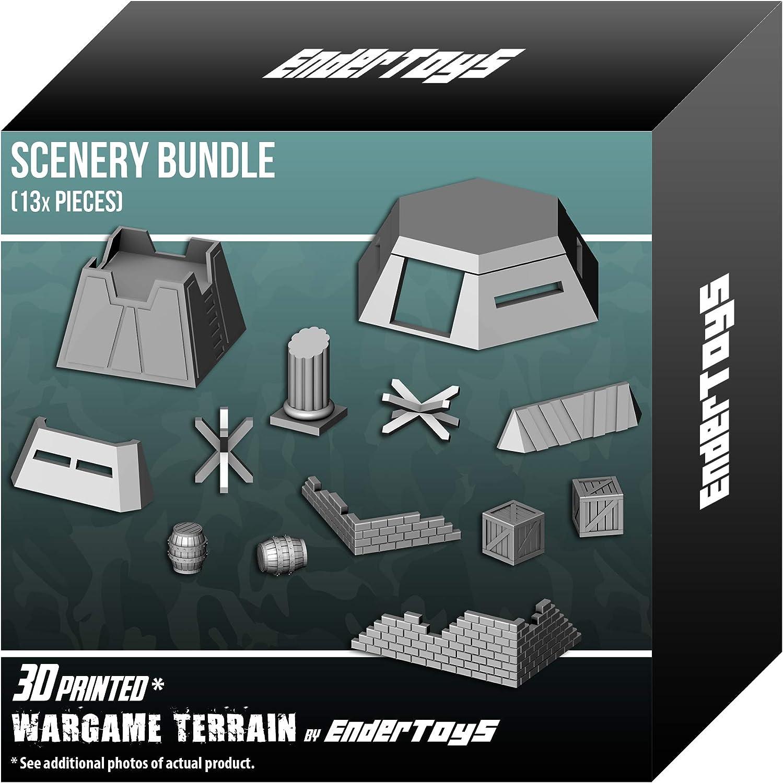 Scenery Bundle, Terrain Scenery for Tabletop 28mm Miniatures ...