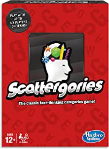 Scattergories - Fast Thinking Categories Game - Don't Let the Time Run Out - Word Games - Ages 12+