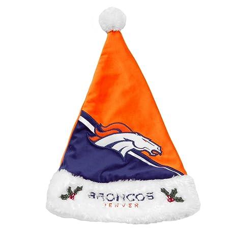 e8b2c90a9e11e3 Amazon.com : NFL Santa Hat NFL Team: Denver Broncos : Sports Fan ...