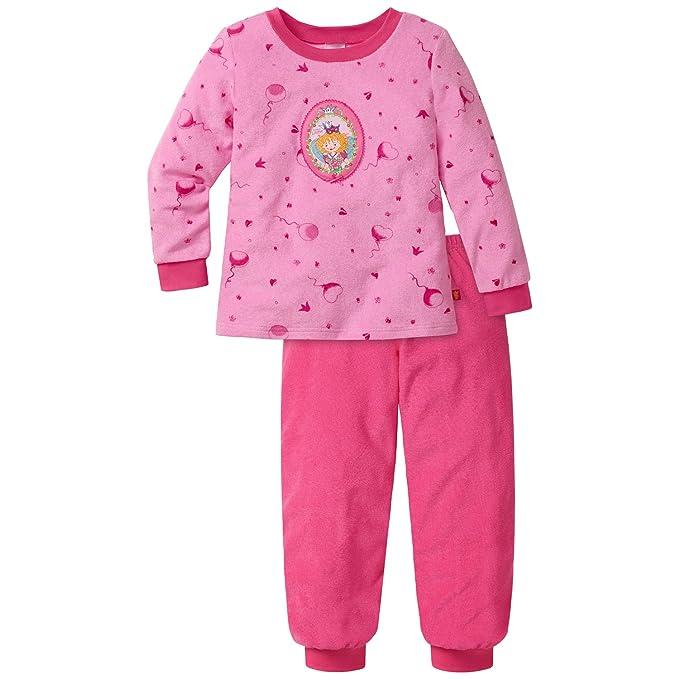 Schiesser Prinzessin Lillifee MD Schlafanzug Lang - Pijama para niñas, Color Rot (Rosa 503