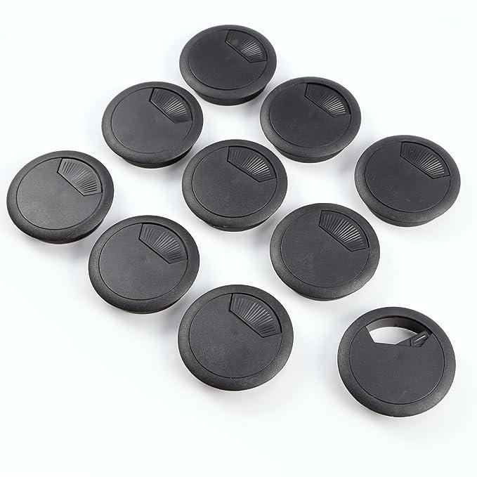 Anladia 10pcs Pasacables de plástico - 56mm diámetro - plastico ...
