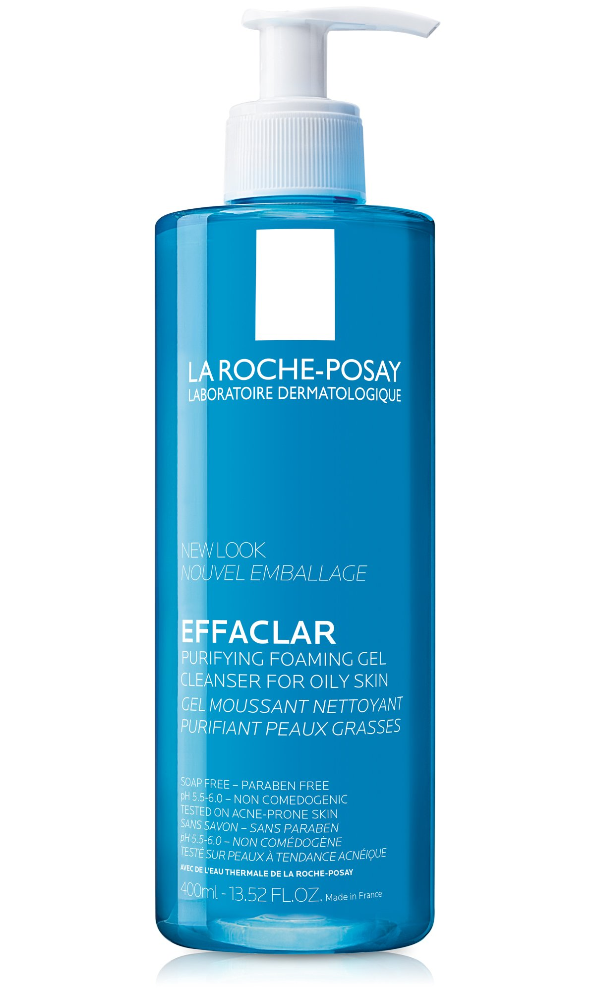 La Roche-Posay Effaclar Purifying Foaming Gel Cleanser for Oily Skin, 13.52 Fl. Oz. by La Roche-Posay