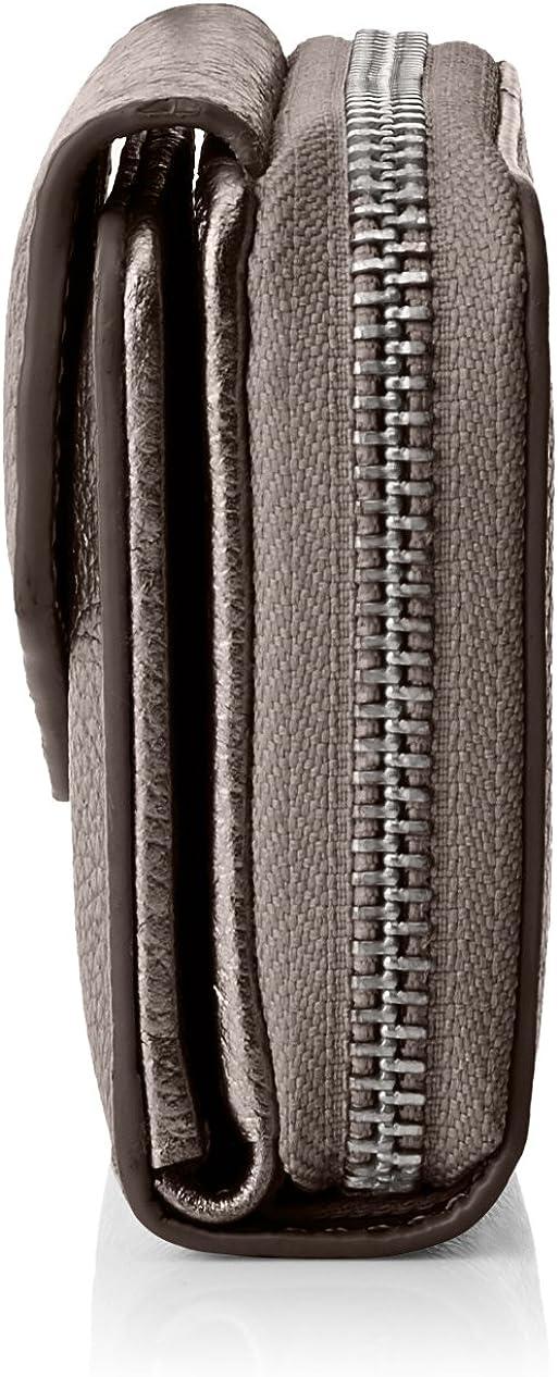 Gunmetal Esprit 087ea1v032 Grau 1x8x10,5 cm Portefeuilles femme B x H T