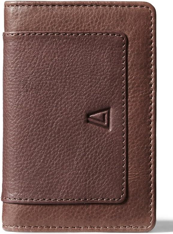 b62b3362648b Men's 100% Leather Card Holder and Key Holder with RFID Blocking