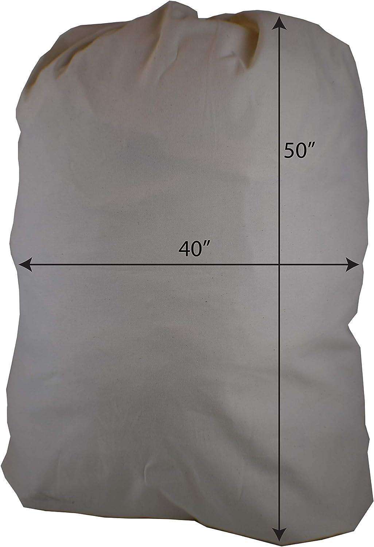 "Huge Havy Duty Eco Friendly Cotton Storage Laundry Bag, Sixa 40""X50"", for Painting, Storage. Moving (Single)"