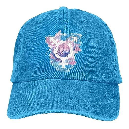 6074c6a4a EvaPrint Transgender Pride Adult Sport Adjustable Structured ...