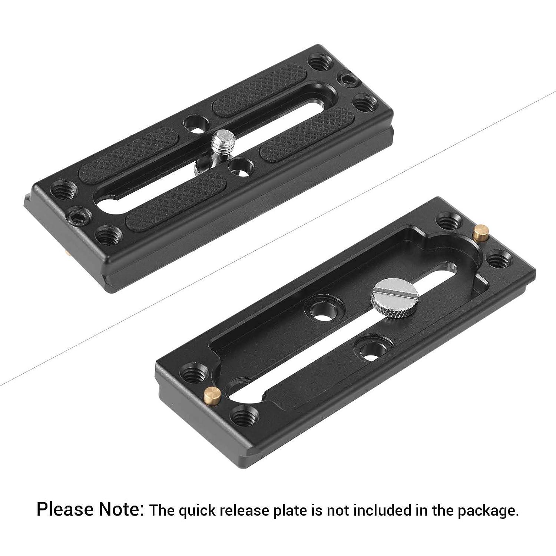 SmallRig Longer Shaft D-Ring Screw 3//8-16 Thread Camera Tripod Quick Release Fixing Screw Adapter Pack of 2 872