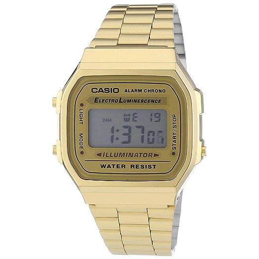 ceed2947ec0a Casio A168WG-9WDF Casio - Reloj Unisex  Amazon.es  Relojes