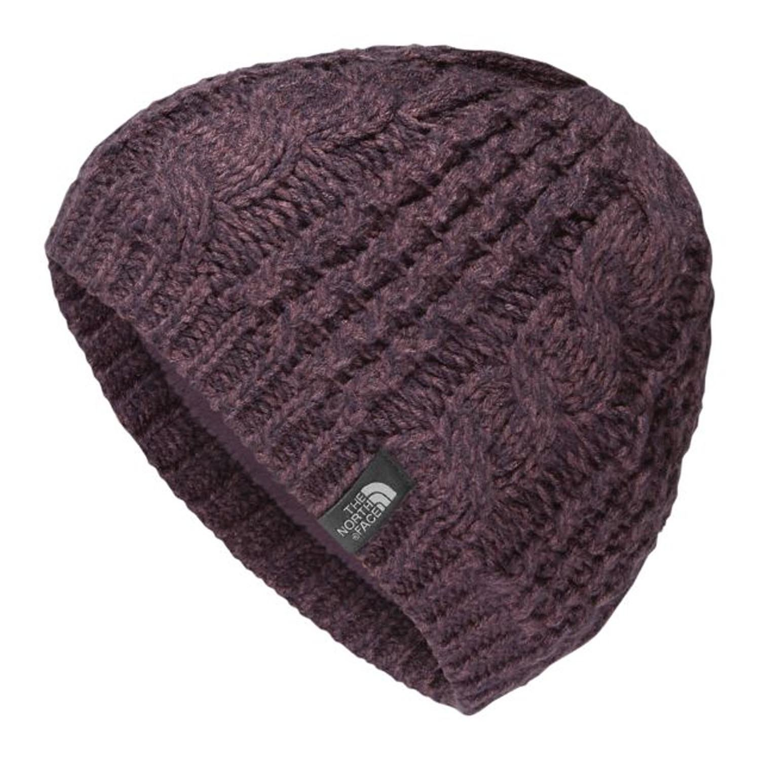 THE NORTH FACE Cable Minna Beanie Women | Black Plum (NF0A358A) (O/S)