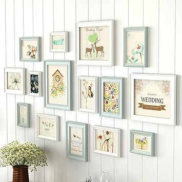 Foto Wandrahmen Bilderrahmen Sets Für Wand, Wohnzimmer Bilderrahmen Wand  Kreative Wand Bilderrahmen Kombination 13 Teile