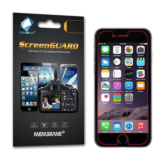 "458 opinioni per 6 x Membrane Pellicola Protettiva Apple iPhone 6 Plus / 6S Plus 2015 (5.5"")-"