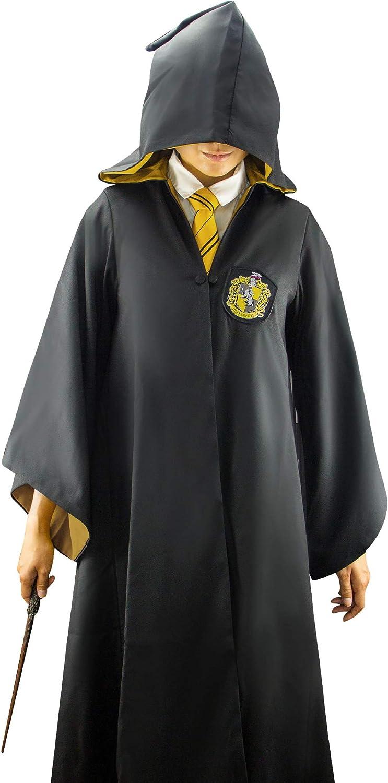 Cosplay Kid Adult Hogwarts Gryffindor Hufflepuff Ravenclaw Slytherin USA Seller