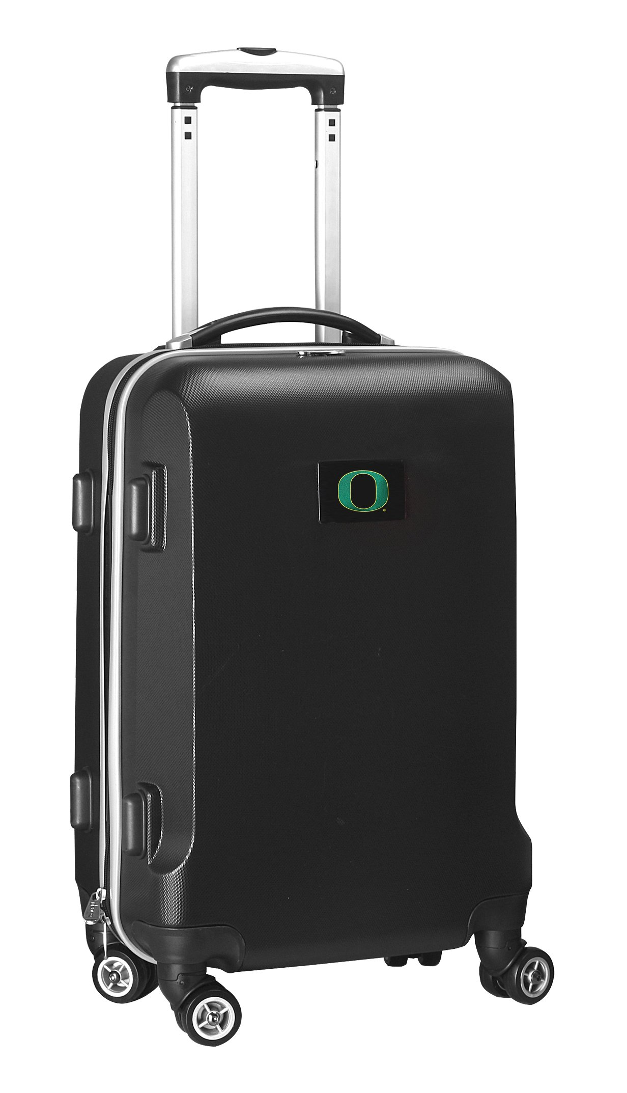 NCAA Oregon Ducks Carry-On Hardcase Spinner, Black by Denco