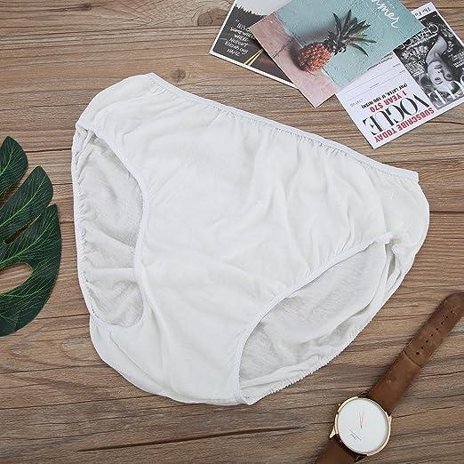 b612f11e7ebcb Amazon.com: Vbestlife Disposable Underwear Briefs 5Pcs/Pack Men & Women  Cotton Panties Underwear Briefs Spa Travel: Sports & Outdoors