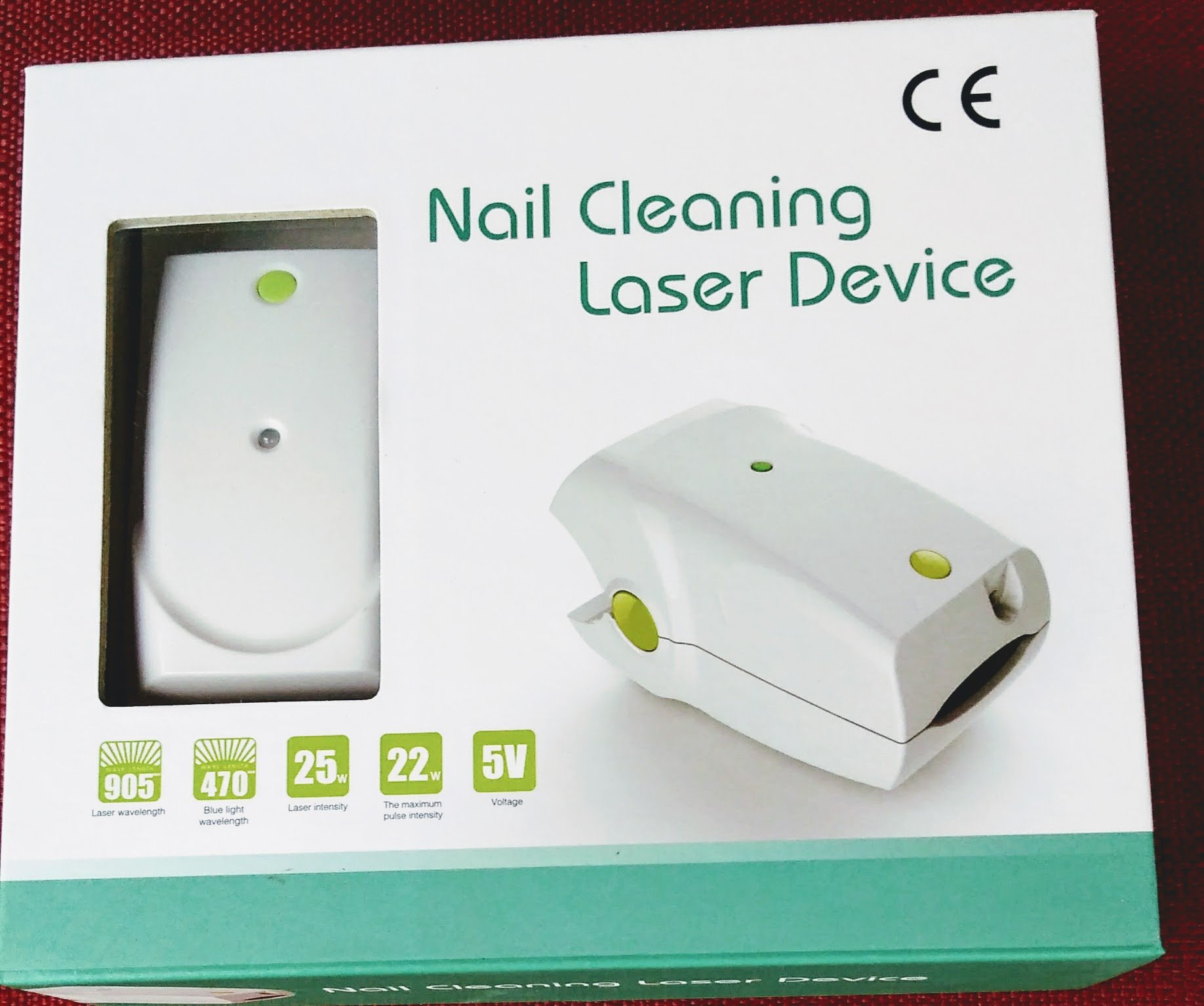 Nail Fungus Treatment Laser,Toenail Fungus Treatment Revolutionary And Safe Fungus Remover Treatment For Toe And Finger Nails To Use At-Home by Laser Nail Systems