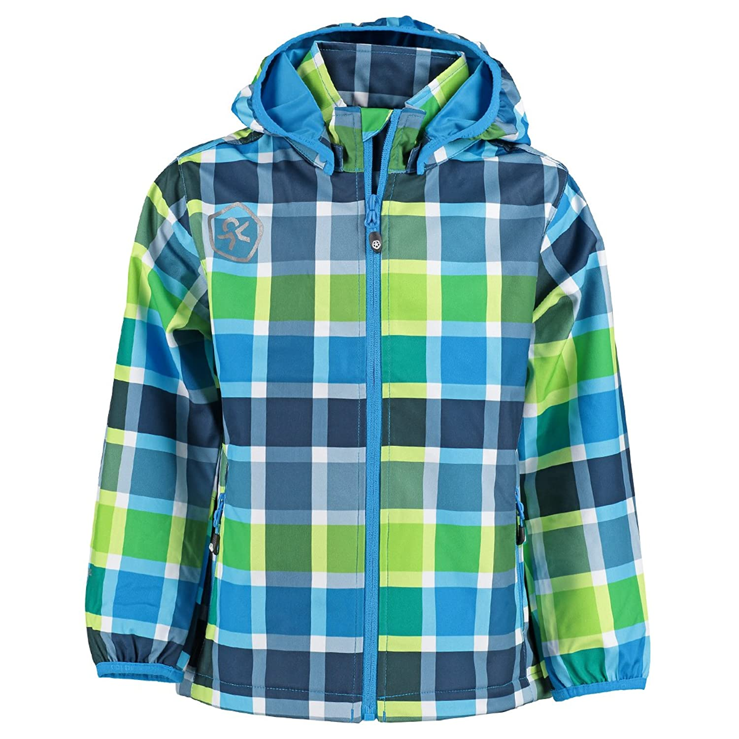 Color Kids Kinder Soft Shell Jacke Timbay 102724 110 Scuba Blue