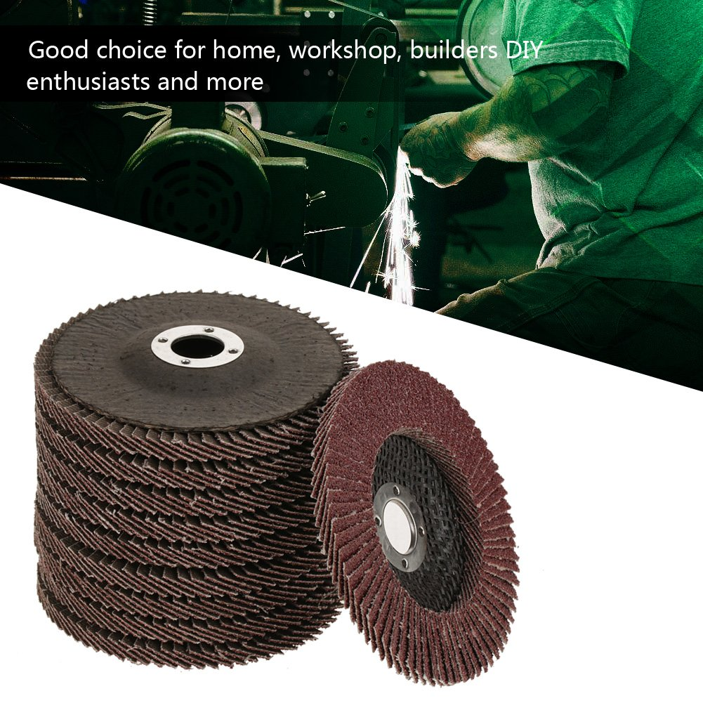 Stupendous 10Pcs Grit 60 Grinding Sanding Grinding Wheel Disc Polishing Spiritservingveterans Wood Chair Design Ideas Spiritservingveteransorg