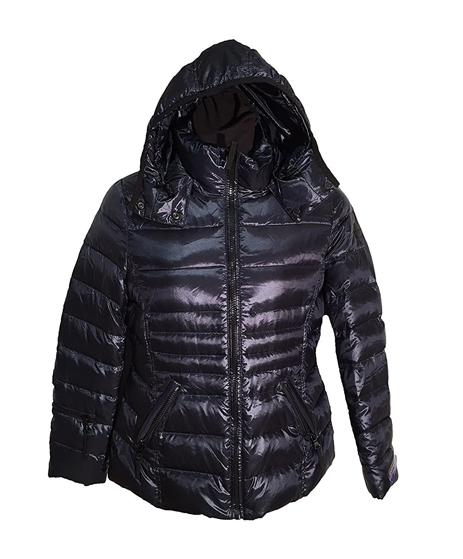 3295477ed2a Andrew Marc Ladies' Short Down Jacket - -: Amazon.co.uk: Clothing