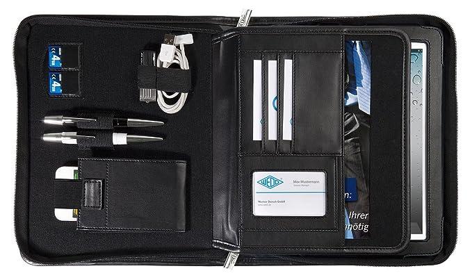 Amazon.com: Wedo 58 5911 A5 Elegance iPad Organizer - Black ...