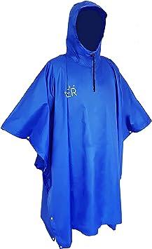 Unisexe Imperméable Poncho Pluie Couverture Protéger Vêtements Imperméable Cyclisme Marche Hi