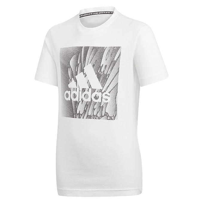 adidas YB MH Bos Box Tee, T Shirts Bambino