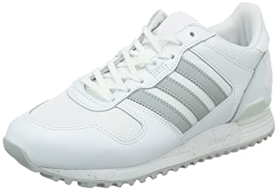 adidas ZX 700, Sneakers Hautes Femme, Blanc (FTWR White/Clear Onix/