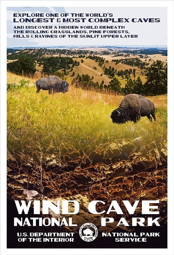 Amazon com: Robert B  Decker Badlands, Wind Cave & Mount
