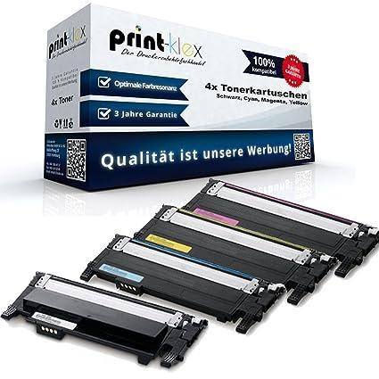 4 Cartuchos para impresora Samsung Xpress C430 C430s ProSeries ...