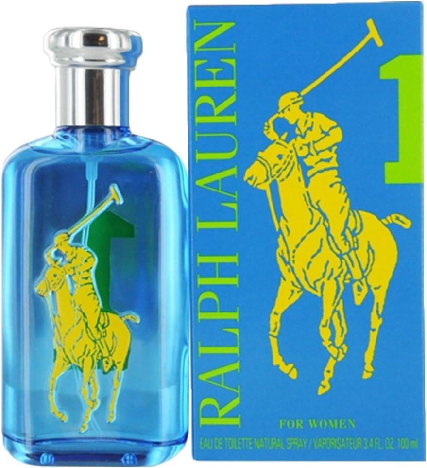 Ralph Lauren Big Pony Blue 1 100 ml eau de toilette Mujeres - Eau ...