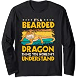 Reptile Quote It's A Bearded Dragon Thing Bearded Dragons Long Sleeve T-Shirt