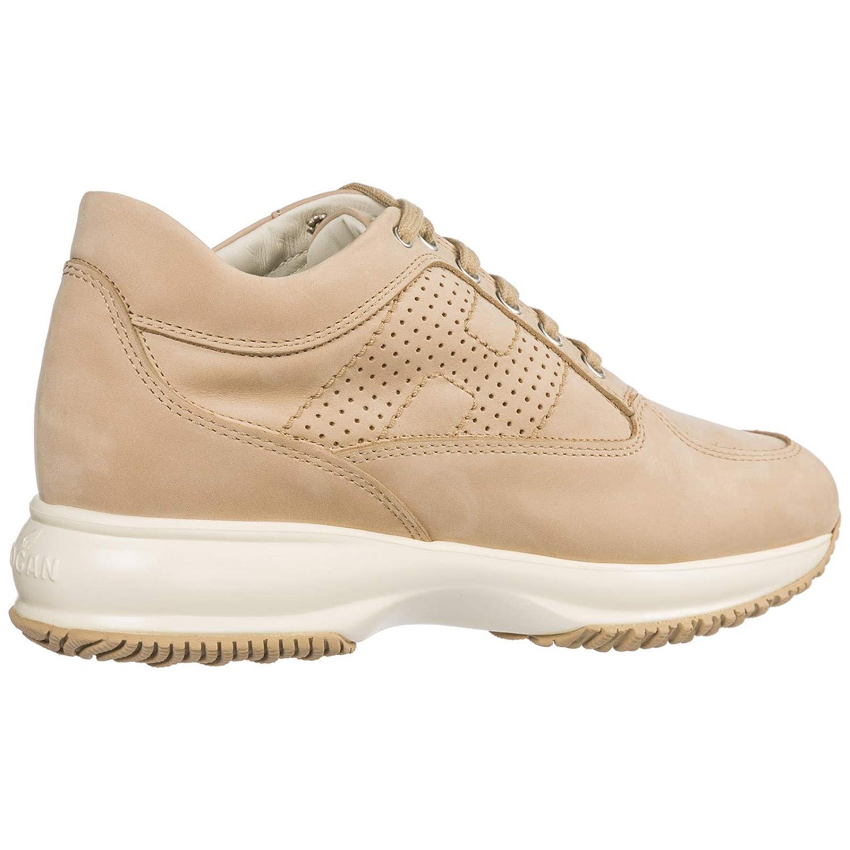 Hogan Sneakers Donna HXW00N00E30A8HC600 Pelle Beige: Amazon