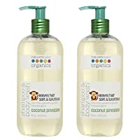 Nature's Baby Organics Baby Shampoo And Body Wash, Moisturizing Tear Free Baby Shampoo Baby Wash With Organic Ingredients, No Sulfate or Paraben, Coconut Pineapple, 16 oz ea, 2 Pack
