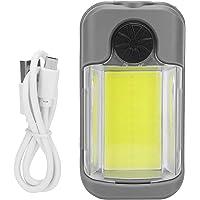 Linterna Recargable, luz de Trabajo USB Recargable XPG + COB 198g Práctica luz portátil, para Senderismo Camping…