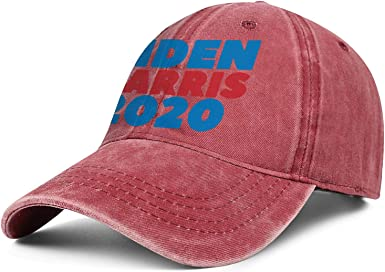 pumty Biden Harris 2020 Hat with Big Pattern for US President Hat Adjustable Baseball Cap Unisex Hat for Sport Outdoor