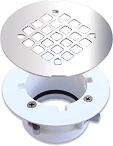 WingTite Pro-Series Shower Drain, Builders Model for New Construction, Installs Entirely from the Top