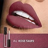 Sunmy Ladies Colorful Matte Lip Glow Beauty Makeup Lip Gloss Women's Liquid Lipstick