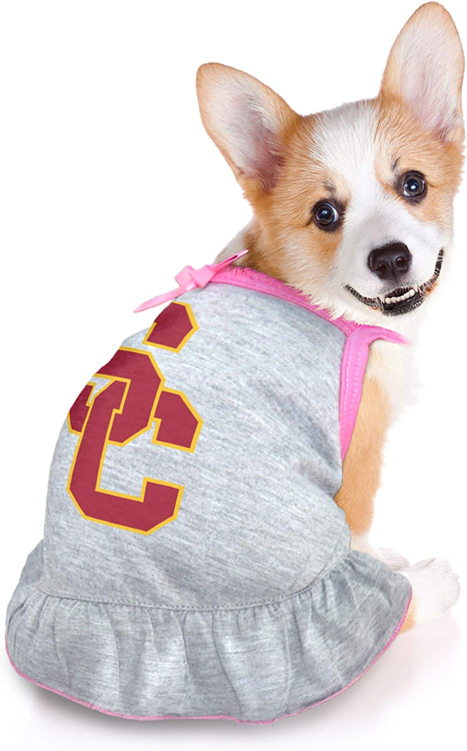 Medium Littlearth NCAA USC Trojans Pet Dress