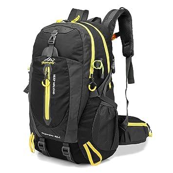 nuevo producto a7c99 6b5c7 Lixada 40L Resistente al Agua Mochila, Portátil Mochila Trekking, Laptop  Daypack, Durable Impermeable, para Escalada, Viajes, Actividades al Aire ...