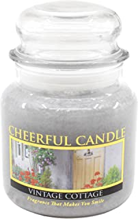 product image for A Cheerful Giver Vintage Cottage 16 oz Jar Candle, Purple