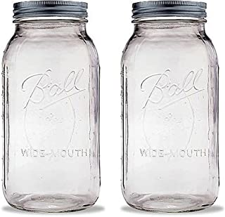 product image for Ball 2 Quart Wide Mouth Canning Jar, Pack of 2
